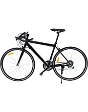 "Ridgeyard 26"" Aluminio bicicleta de carretera Road Bike 21 velocidades 700cc(negro)"