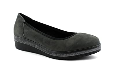 Viro Chaussures Danseuse Gris Zeppetta Grunland Femme 41 Sc3152 jzqGLUSMVp