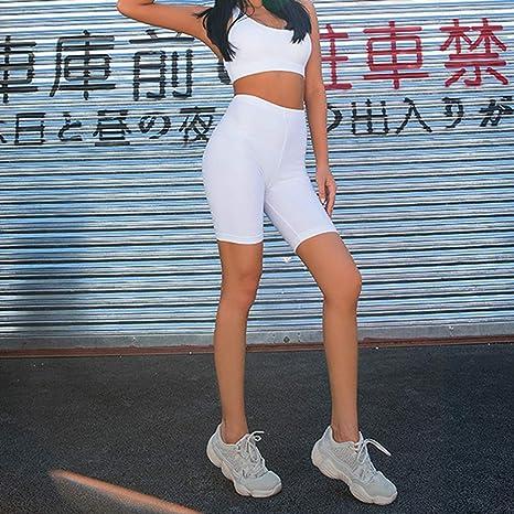 DKXLW Pantalones Cortos De Mujer,Verano Blanco Vintage Shorts De ...