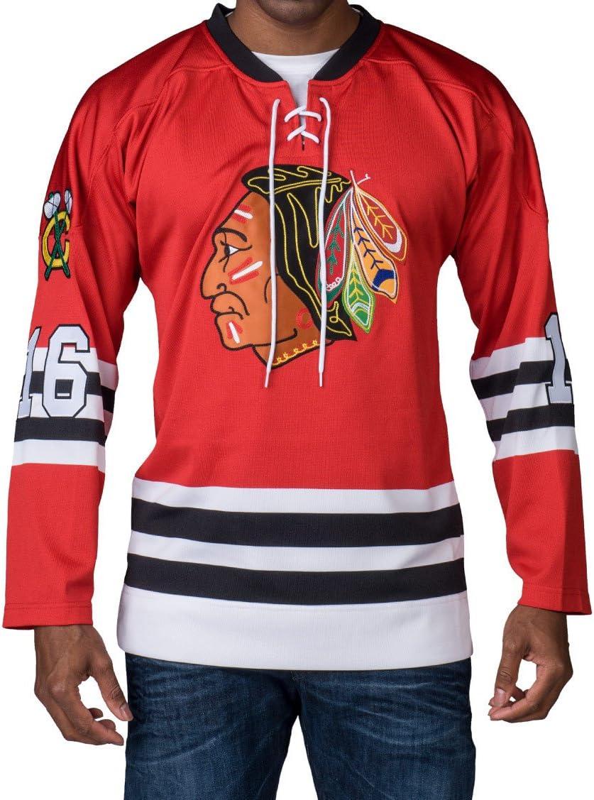 Amazon.com : NHL Mitchell & Ness Bobby Hull Chicago Blackhawks ...