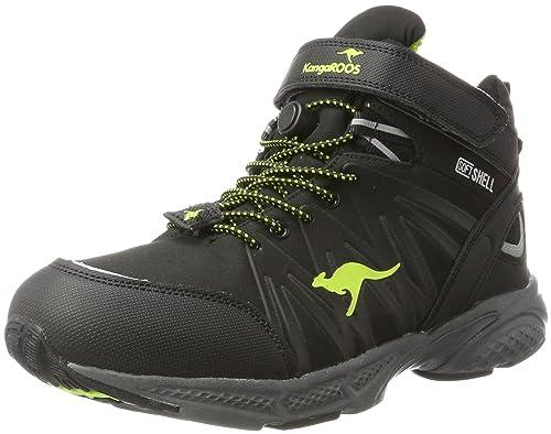 KangaROOS Unisex Adults  Tramp Hi Low Rise Hiking Black Size  8 UK ... 71c953e420f