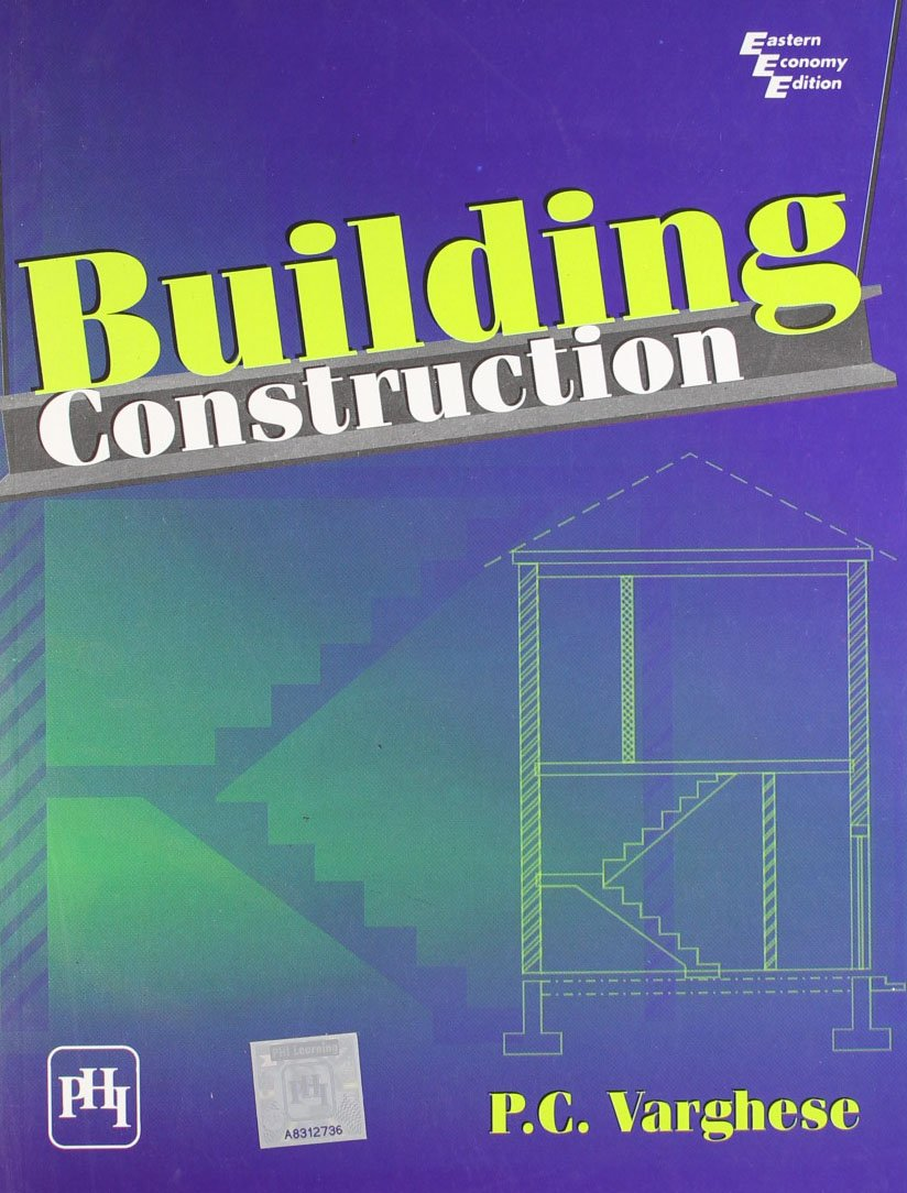 Buy Building Construction Book Online at Low Prices in India