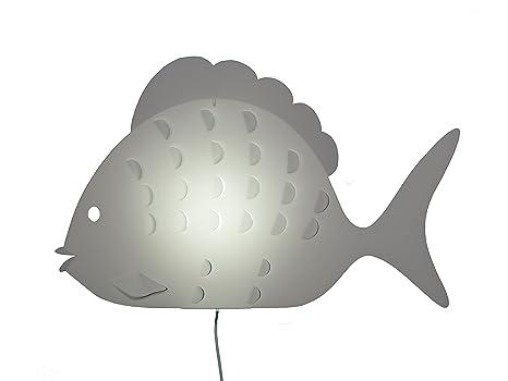 Zzzoolight a lampada applique per bambini a forma di pesce