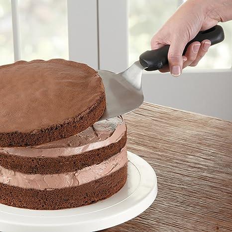 Amazon.com: Fat Daddio\'s Cake Lifter/Jumbo Cookie Spatula: Kitchen ...