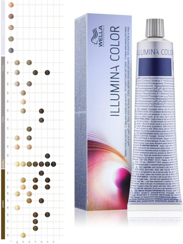 Wella Tinte Illumina 10/05-60 ml: Amazon.es: Belleza