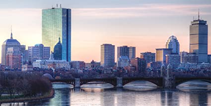 amazon com massachusetts boston skyline decorative city travel