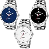 Armado AR-C1 C2 C3 Smart Stylish Watch for Men Combo of 3