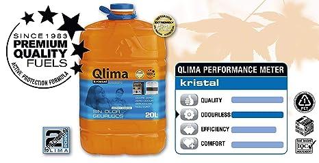 Qlima 8713508708119 20L Combustible líquido accesorio para calentador eléctrico - Accesorios para calentadores eléctricos (Combustible