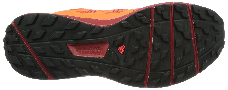 Salomon Sense Ride Running Shoe - Men's B01MSPSGGZ 8 D(M) US|Fiery Red/Scarlet Ibis/Red Dalhia
