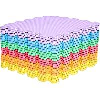 Mocosy 1' x 1' (30cm x 30cm) in elkaar grijpende vloermatten beschermende vloermatten|Puzzelmat|Zachte schuimmat…