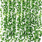QC-Life-84-FT-Artificial-Ivy-Fake-Greenery-Leaf-Garland-Plants-Vine-Foliage-Flowers-Hanging-for-Wedding-Party-Garden-Home-Kitchen-Office-Wall-Decoration12-Pack