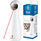 PetSafe Bolt - Laser Pointer Cat Toy / Dog Toy - Automatic Cat Laser Toy: Manual & Random Pattern Mode, Cat Anxiety Relief, H