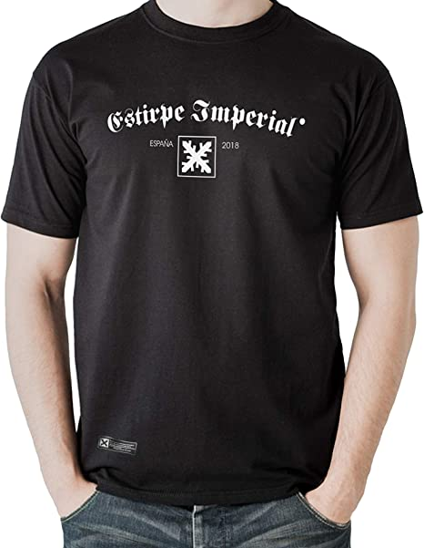 Estirpe Imperial Camiseta de España Cruz de Borgoña: Amazon.es: Ropa y accesorios