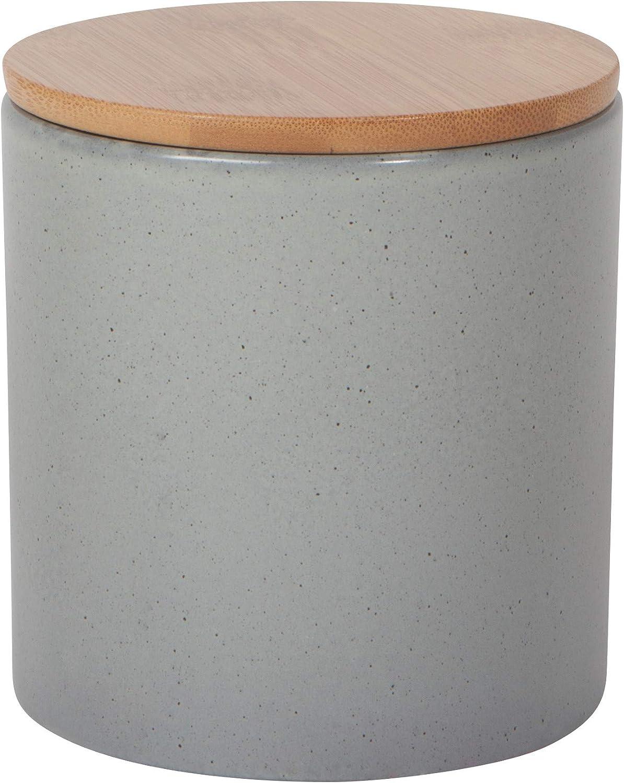 Now Designs 5066025aa Terrain Med Dusk Stoneware Canister, Medium