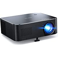 Projector, APEMAN Native 1080P HD Home Video Projector, Support 4K Movie, 300'' Display, Remote Electronic Keystone…
