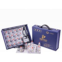 Hansol Professional Cupping Therapy Equipment Set with pumping