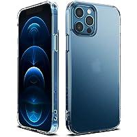 Ringke Fusion Compatible con Funda iPhone 12 Pro MAX 5G Hybrid PC Trasera Dura con Parachoques de TPU Flexible - Matte…