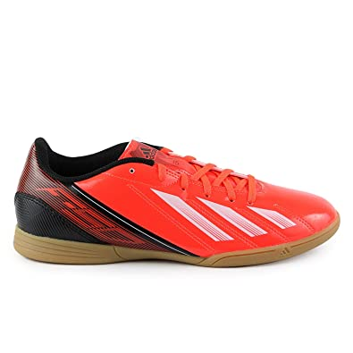 93d858a4bb5d6 Amazon.com | adidas F5 Indoor Low Soccer Shoes - Red/White/Black ...