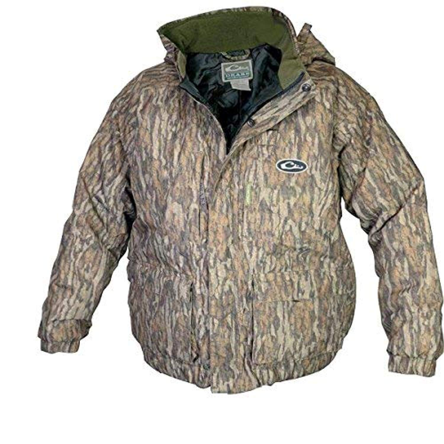 Drake LST Youth Eqwader 3 in 1 Plus 2 Wader Coat, Color: Mossy Oak Bottomland, Size: Size 16 (DW2970-006-16) by Drake