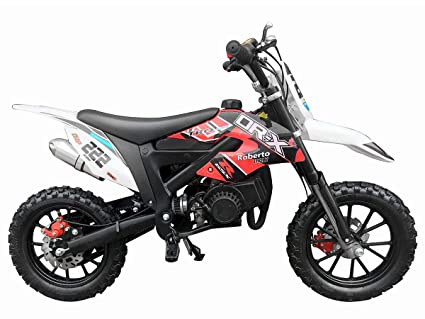 Automatic Transmission Motorcycle >> Amazon Com Dr X Kids Dirt Bike Holeshot X 50cc Gas Power Mini Dirt
