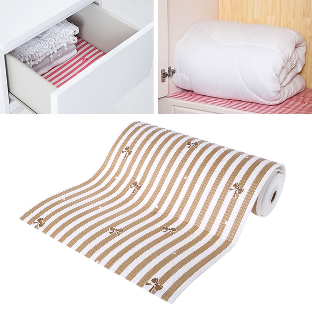 Simplelife Waterproof Kitchen Tablemat Drawer Liner Wardrobe Pad Cupboard Placemat 30x300cm