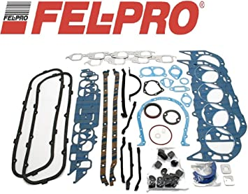 Fel Pro Engine Overhaul Gasket Set compatible with 1965-1979 Chevy bb 454 427 402 396 366