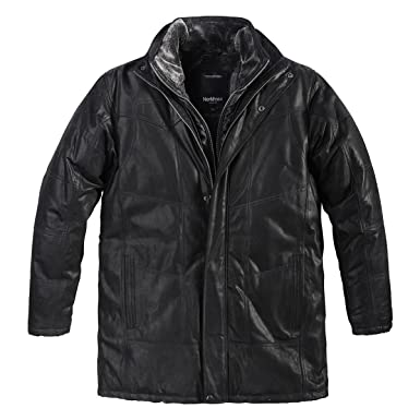 Unbekannt XXL North 56°4 Allsize Lederjacke schwarz