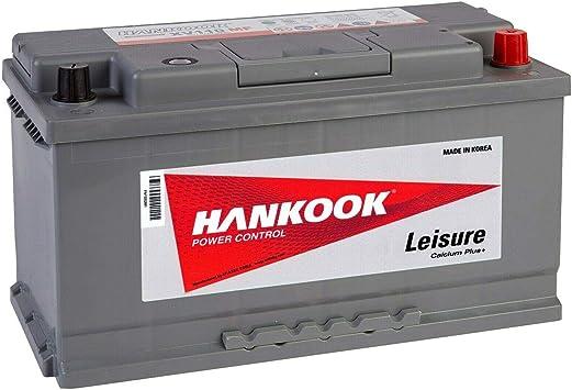 Hankook XV110 12V 110Ah Batterie Décharge Lente Pour Loisir, Caravane, Camping Car, Bateau 354x174x190mm