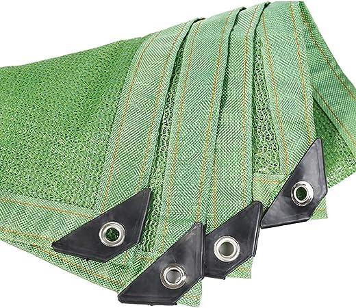 Malla Sombra, Tela Verde para Sombra de protección Solar - 75% -80% Red Resistente a