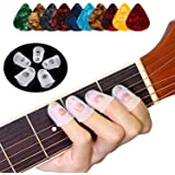 Durable Guitar Ersatz Fingerspitzen Picks Plektren Container Fingerpicks