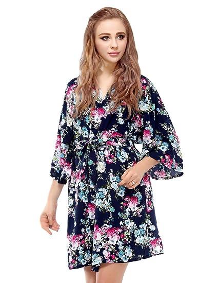 Amazon.com  Skyfitting Women s Kimono Robe 626035151