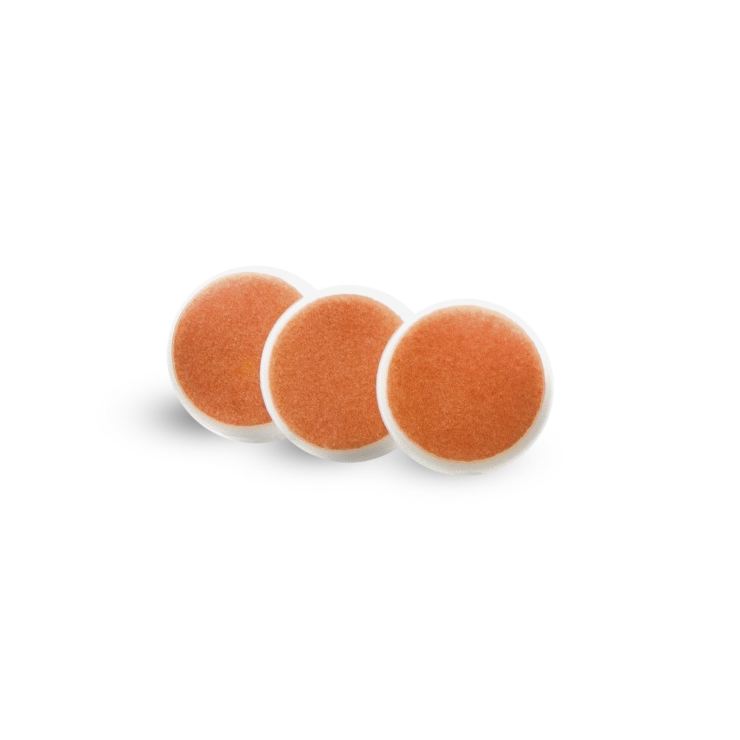 ZoLi BUZZ B replacement pads - Orange (3 per set)