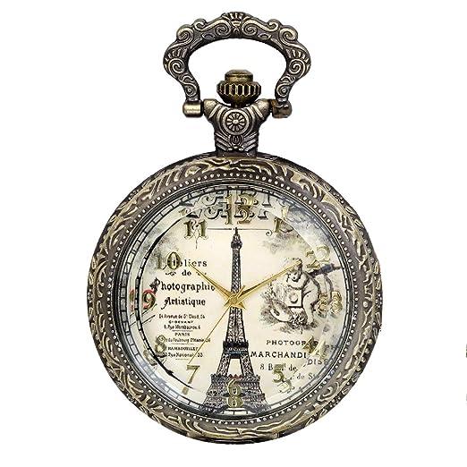 Humorous Bronze Antique Vintage Spider Web Hollow Pendant Necklace Quartz Pocket Watch Men Women Unique Sweater Necklace Steampunk Watch Watches