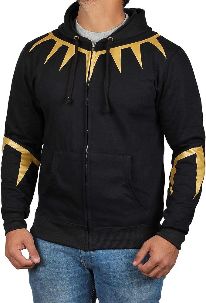 81f1099ae Deadpool Costume Red & Black Hoodie - Mens Adult Zip up Pullover Apparel