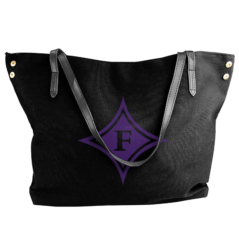Furman Paladins Logo Handbag Shoulder Bag For Women