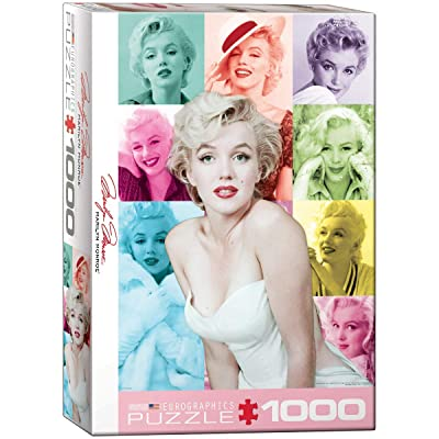 EuroGraphics Marilyn Monroe Color Portrait (1000 Piece) Puzzle (6000-0811): Toys & Games