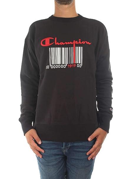 it Amazon Donna 111070 Abbigliamento Champion Felpe Rw L Nero fZF4wx0