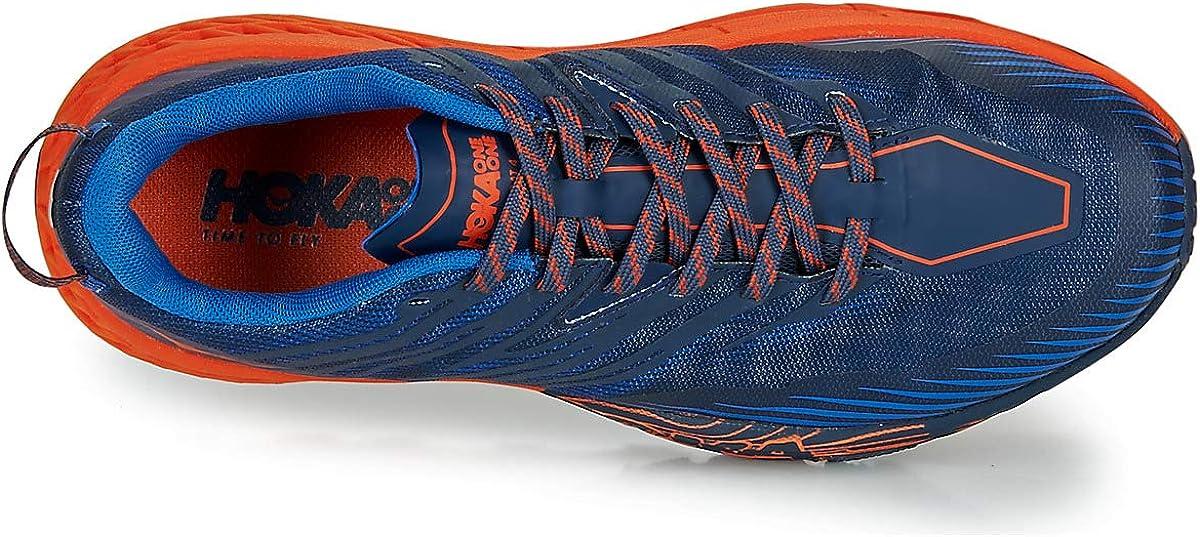HOKA ONE ONE Scarpe Speedgoat 4 Uomo Scarpe per Trail Running Blu