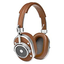 Master & Dynamic MH40 Over Ear Headphone - Brown/Silver