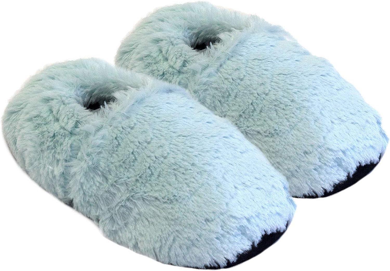 K/örner-Sox Pantofole riscaldabili Ciabatte con Semi per microonde e Forno
