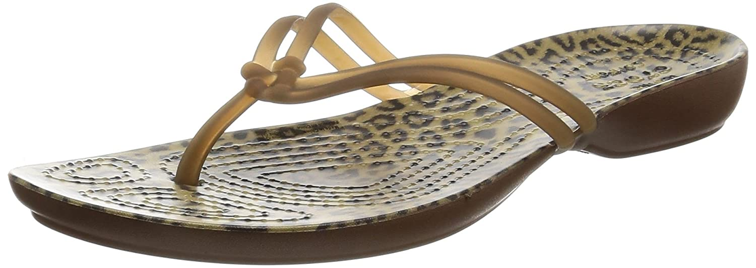 55bc0afcb Amazon.com  Crocs Women s Isabella Graphic Flip  Crocs  Shoes