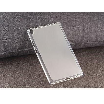 Amazon.com: Meijunter White TPU Gel Rubber Soft Case Cover ...