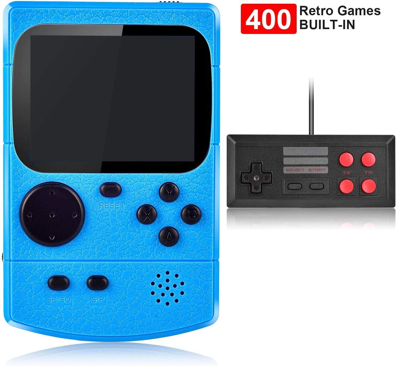 Amazon.es: Kiztoys Consola de Juegos Portátil,Consola Retro 400 ...