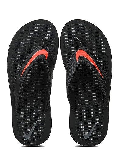 Nike Men's Chroma Thong 5 Black Flip Flops Men's Fashion Sandals at amazon