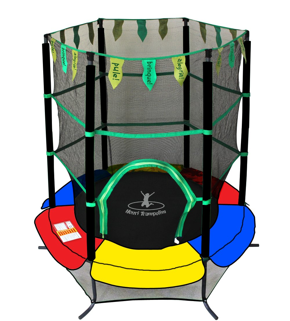 Trainor Sports 14 Trampoline And Enclosure Combo Instructions