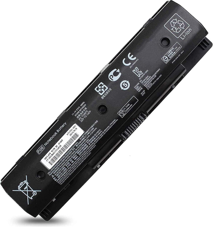 P106 P109 710416-001 710417-001 Battery Compatible with HP Envy,HP Pavilion 17-e119wm 17-e049wm 17-e118dx 17-e117dx 17-e016dx 17-e110dx 17-e037cl 17-e079nr 17-e098nr 17-e020us 17-e110dx 17-e113dx