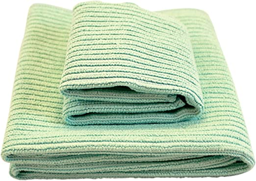 NORWEX KITCHEN TOWEL /& CLOTH SET IN NAVY ABSORBENT MICROFIBER BACLOCK FREE SHIP