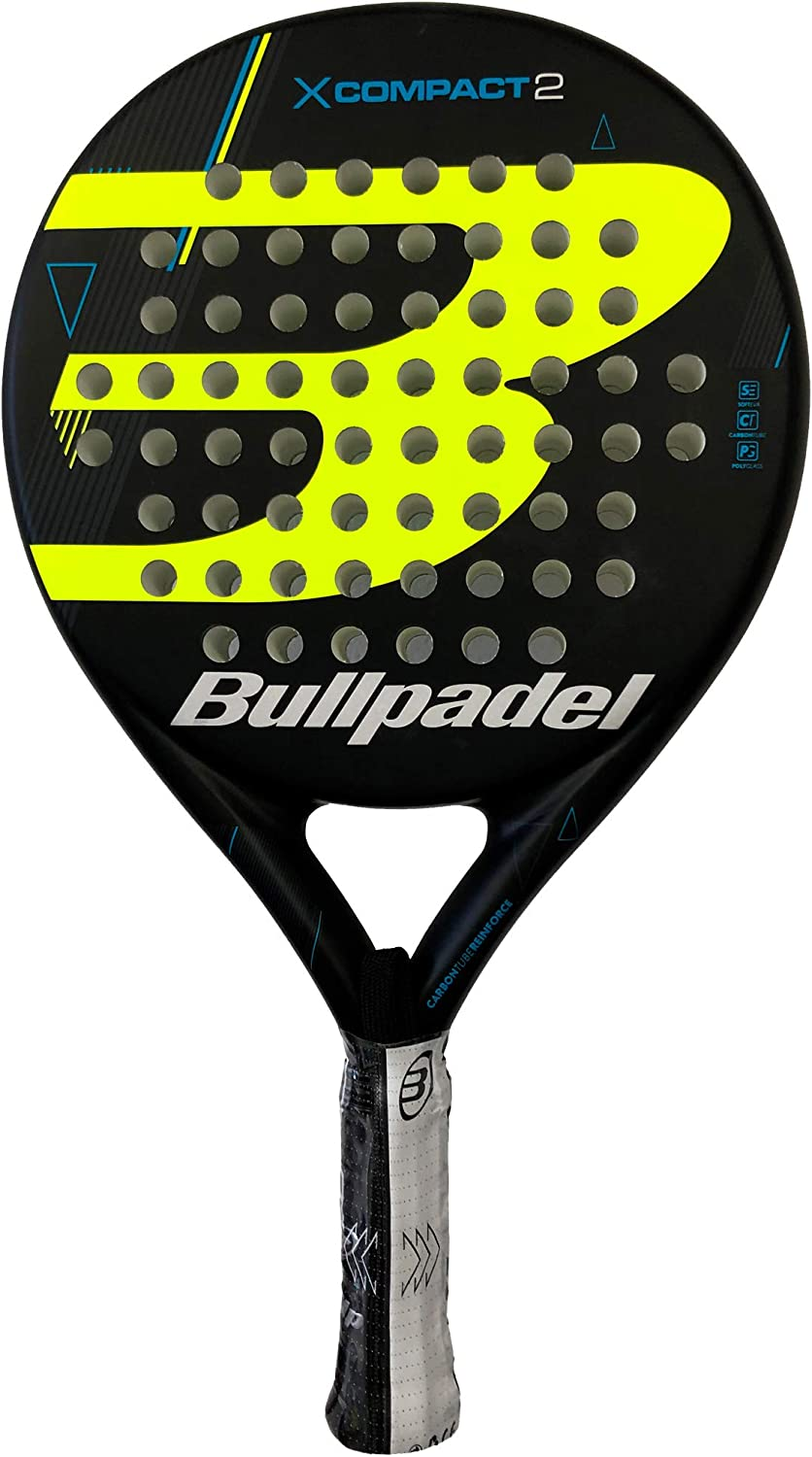Bullpadel Pala de pádel X-Compact LTD Yellow