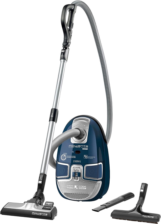 Rowenta Silence Force Compact - Aspiradora, 2100 W, color azul ...