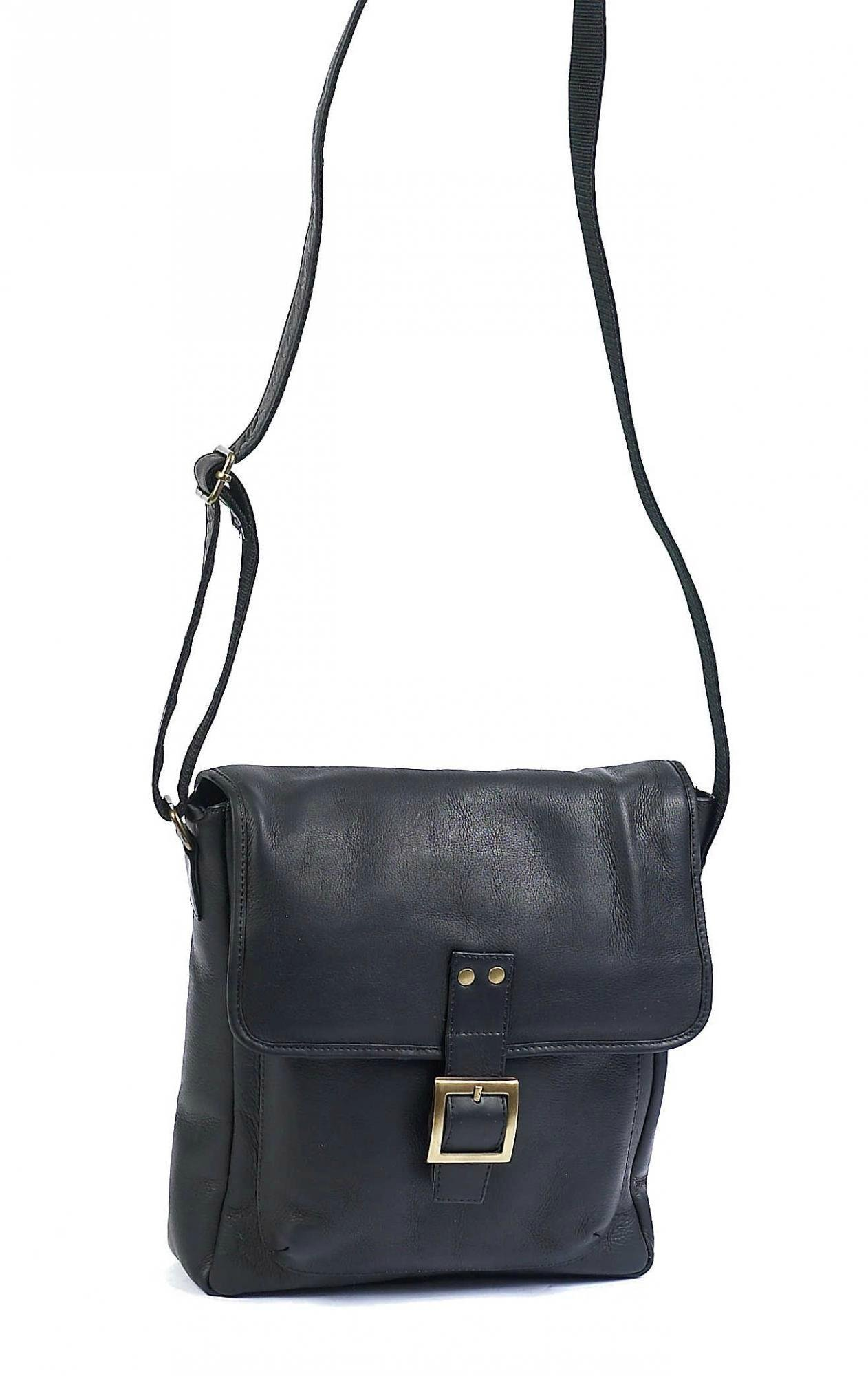 Claire Chase Versailles Man Bag, Black, One Size